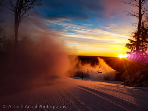 Epic Sunrise - Holiday Valley Groomer